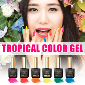 [MOSTIVE] 트로피컬 칼라 젤폴리시 / TROPICAL COLOR GEL POLISH