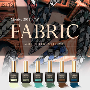 [MOSTIVE] 패브릭 칼라 젤폴리시 / FABRIC COLOR GEL POLISH