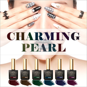 [MOSTIVE] 차밍펄 칼라 젤폴리시 / CHARMING PEARL COLOR GEL POLISH
