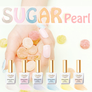 [MOSTIVE] 슈가펄 칼라 젤폴리시 / SUGAR PEARL COLOR GEL POLISH